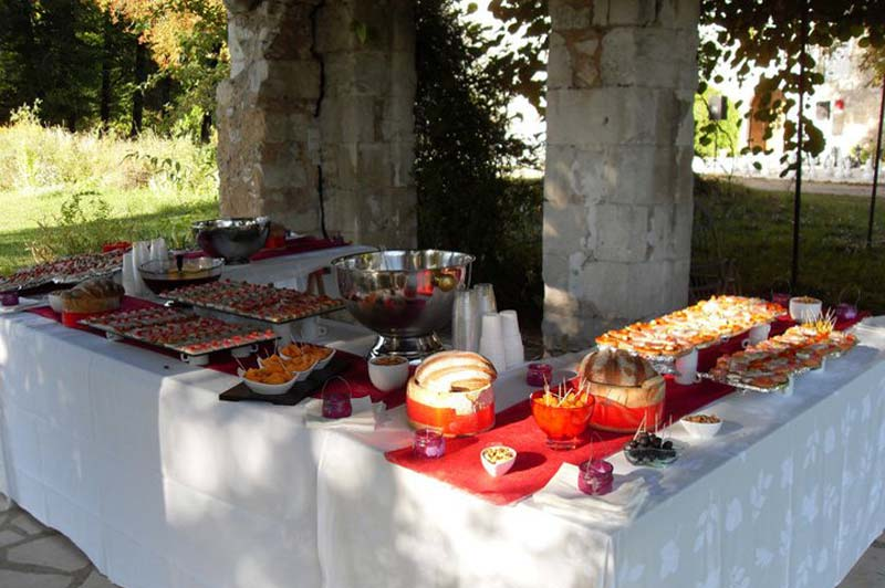 buffet froid mariage perigueux